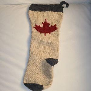 Christmas stocking- Canadiana